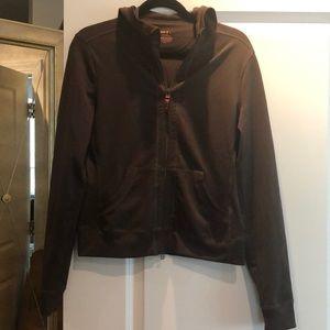 Zella zip front yoga hoodie